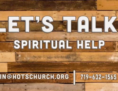 Let's Talk-Spiritual Help
